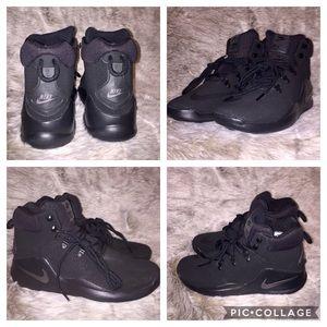 New Nike Sizano Basketball Shoes Black Men Sz 8.5